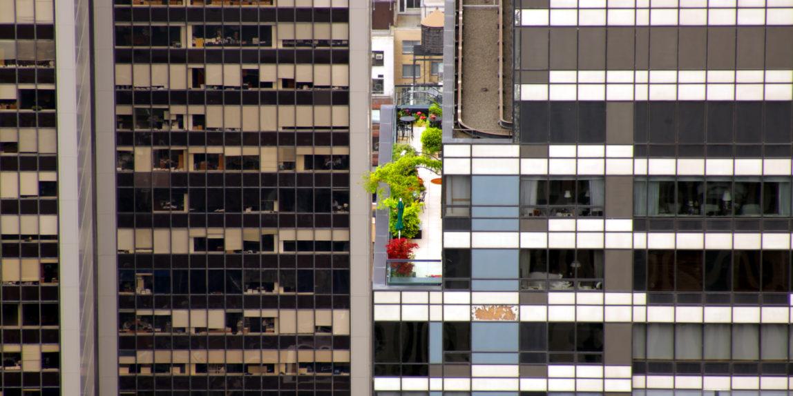 Balkon in Manhattan NY